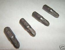 "4 Cromo Vanadio Phillips Philips N ° 3 Destornillador bits ¼ ""Hex Ph3 Crv 25mm 1"""