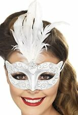 Bal Masqué Dentelle blanche Masque Yeux Withties Smiffys fantastiques