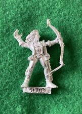 Warhammer Wood Elves Scout Archer Metal Elf Games Workshop Mint Citadel Scouts