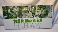 1st Edition The Ungame 1972 Vintage Board Game USA RARE FACTORY SEALED PERFECT