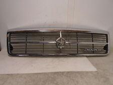 89 90 91 92 Dodge Spirit Front Chrome Grille Grill Nice OEM