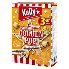 Kelly Popcorn Golden Pop Butter Microwave T3 270gr