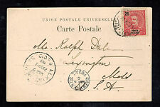 1905 Azores Portugal Real picture Postcard  cover to USAlake of Sete Cidades