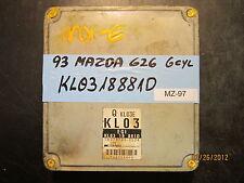 1993 MAZDA 626 6cyl. ECU/ECM #KL0318881D *see item description*
