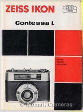 ZEISS IKON Contessa L Fotocamera foglio di istruzioni 1966, altri manuali elencati
