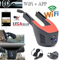 HD 1080P Hidden Wifi Car DVR Vehicle Camera Video Recorder Dash Cam G-Sensor USA