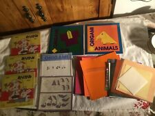 Ancient Art Of Origami ,complete origami fun and animals books , xtra papers
