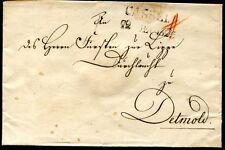 Cassel 1825 principe lettera dopo Roma (j4087