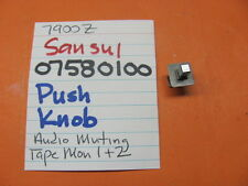 Sansui 07580100 Knob Assembly Fm Mode Tuning Tape Monitor Stereo Receivers