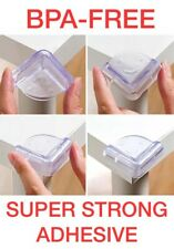 4pk Child Baby Toddler Corner Edge Furniture Protector Safety Guard Rubber Cover