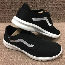 "Vans Men's Shoes ""Iso 2"" --(Mesh) Black/White/White"