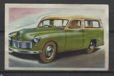Hillman Estate Car 1950 Vintage 1950s Dutch Trading Card No.8