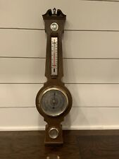 """Springfield Weather Station Barometer Thermometer Humidity Wall Mount 23 1/2"""""""