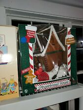 Animated Lighted Musical Gingerbread House by Holiday Living with original box