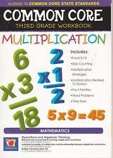 Common Core Multiplication Third Grade Workbook New