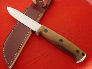 Ontario USA Bushcraft 1095 carbon 5160 full tang fixed blade knife