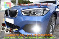 BMW SERIE 3 E46 LAMPADE H11 LED XENO FENDINEBBIA 6000K BIANCO RAPIDO