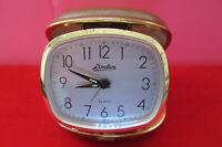 Vintage Linden Wind Up Travel Alarm Clock Linden Travel Alarm Clock Linden Clock