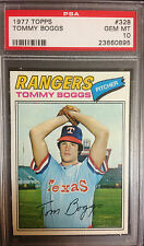 1977 Topps Tommy Boggs Texas Rangers #328 Baseball Card