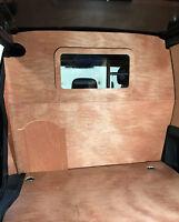 Citroen Berlingo/Peugeot Partner 2008> Wooden Bulkhead With Window and Hatch