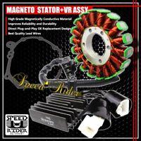 04-07 CBR 1000RR  MAGNETO COIL STATOR+VR VOLTAGE REGULATOR RECTIFIER+GASKET ASSY