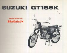 GT Suzuki Motorcycle Parts Catalogues