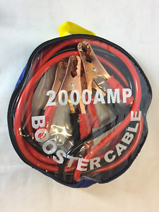 HEAVY DUTY 2000AMP CAR VAN JUMP LEADS 3 METRE BOOSTER CABLES START NEW BATTERY