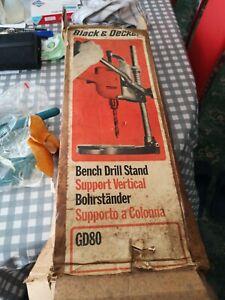 Vintage Black & Decker Bench Drill Stand