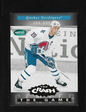 JOE SAKIC 1994-95 PARKHURST CRASH THE GAME GOLD PARALLEL # G19 !!