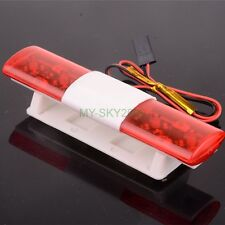 Police Night Flash Bright Red LED Lights for 1/10 RC Drift Car Truck SUV LED501A