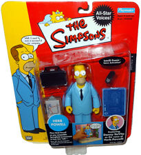 Simpsons Celebrity Series Herb Powell Action Figure MOC RARE Toy Playmates