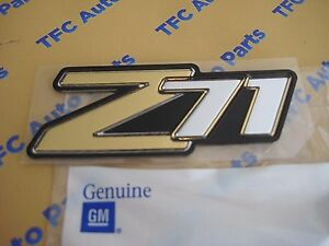Chevy Suburban Tahoe Z71 Emblem Badge Side or Rear Genuine OEM New