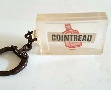 France Cointreau French Liqour - Vintage Keychain Key Ring Holder