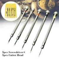 5x Screwdriver Kit Set Eyeglasses Watch Repair Jewelry Watchmaker Precision Tool