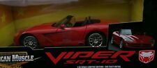 1/18  DODGE VIPER SRT-10 RED   BRAND NEW  AMERICAN MUSCLE ERTL