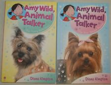 Set of 2 Amy Wild, Animal Talker books