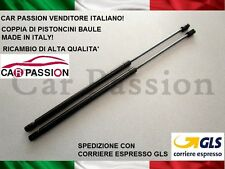 COPPIA MOLLE A GAS ALFA ROMEO 159 2005> PISTONI MOTORE COFANO ANTERIORE CP115