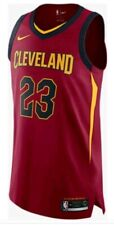 Nike ICON Authentic Stitched Cleveland Cavaliers Lebron James Jersey Size 56 XXL