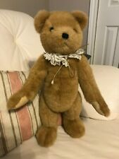 Ganz 1995 Large MOE Brown Jointed Classic Teddy Bear CH1115L Stunning 19 inch