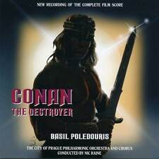 Conan The Destroyer - 2 x CD Complete Score - Limited Edition - Basil Poledouris