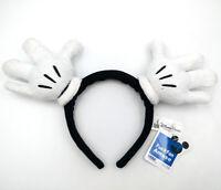 Disney Park Resort Bow Mickey Mouse Hand White Minnie Ears Gifts Cos Headband