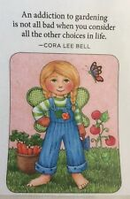 Mary Engelbreit Handmade Magnets-An Addiction To Gardening Is Not All Bad