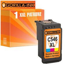 1x Tintenpatrone XXL für Canon CL-546XL Color Pixma MG 3053 MX 494 MX 495