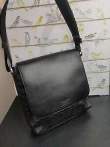 COACH F28577 CHARLES SMALL MESSENGER IN SIGNATURE LEATHER
