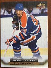 2015/16 UD Hockey Series 2 Wayne Gretzky UD Canvas #C249 Rare!!!