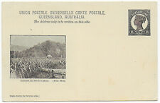 Australia Queensland 1898 1½d pictorial postal stationery Pc Cornfield/Selector
