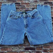 Vintage Ralph Lauren Women's Jeans  8P Classic Medium Wash inseam 28 Mom Jeans