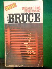 MEDAILLE D'OR POUR OSS 117 JOSETTE BRUCE 1968 PRESSES DE LA CITE n204 EO