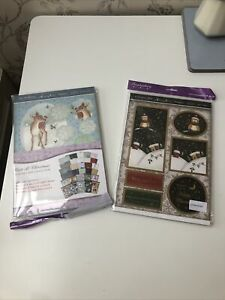 HUNKYDORY CUTE AT CHRISTMAS + EXTRA PACK Luxury Card Making Inspiration Sheets