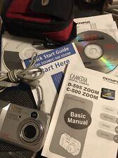 Olympus D-595 5MP Digital Camera with 3x Zoom 12x Optical/Digital/movie